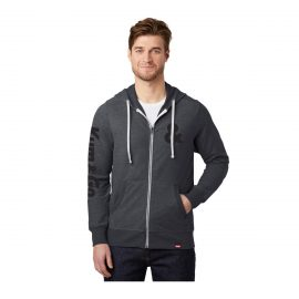 KG0320 Triblend Full Zip Hooded Kum Go Sweatshirt Model