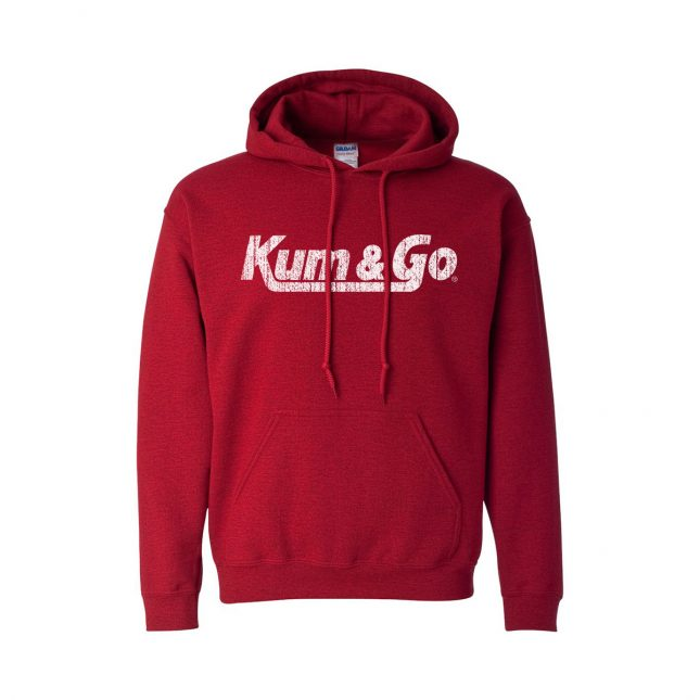 KG20 Gildan 18500 Sweatshirt distressed antiquecherryred 1200