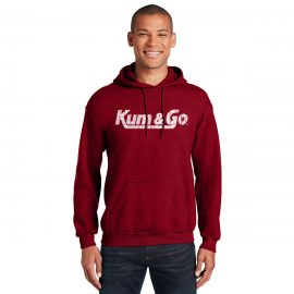 KG20 Gildan 18500 Sweatshirt distressed model 1200