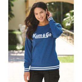 KG20 Womens Relay Crewneck Sweatshirt model 1200